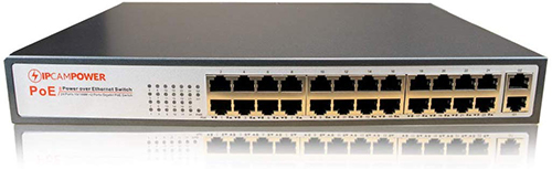 Best PoE Switches for IP Cameras - IPCamPower