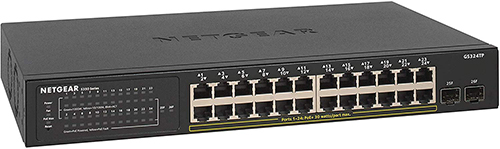 Best PoE Switches for IP Cameras - Netgear GS324TP
