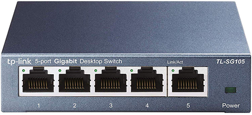 Best Network Switches for Gaming - TP-Link TL-SG105