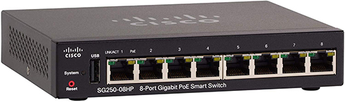 Best Smart Network Switch - Cisco SG250-08HP