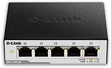 Best Smart Network Switch - D-Link DGS-1100-05
