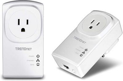 Best Powerline Adapters for Gaming - TRENDnet TPL-407E2K