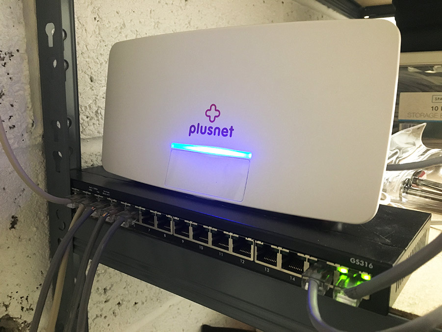router and network switch