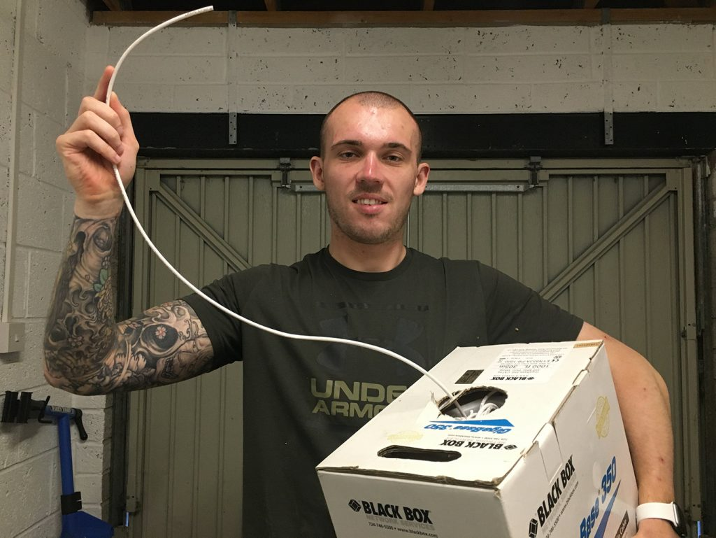 long ethernet cable